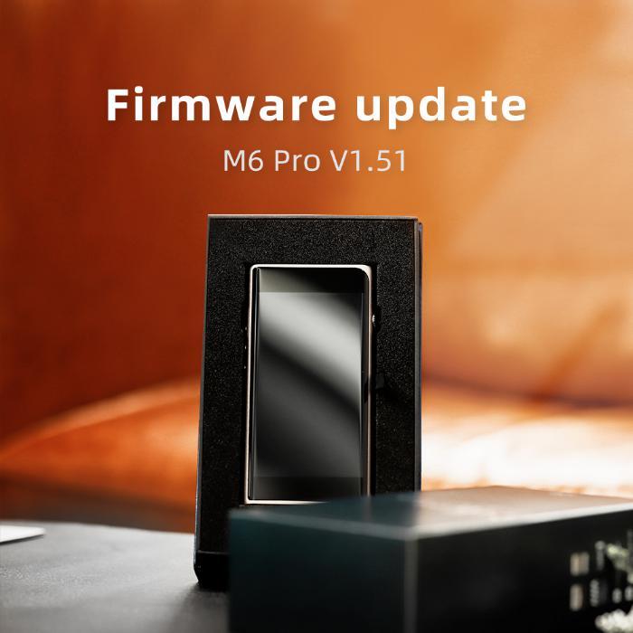 Shanling M6 Pro Firmware Update