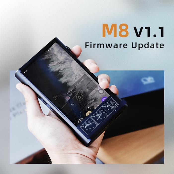 Shanling M8 Firmware update